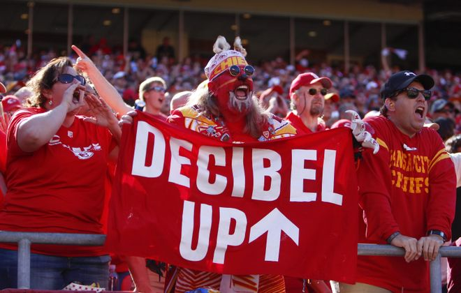 Kansas City fans broke the decibel record in last week's win over Oakland, breaking a mark set by Seattle earlier in the season.
