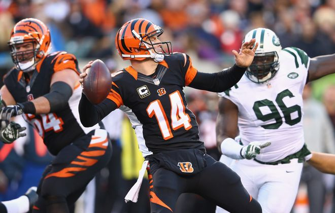 Bengals quarterback Andy Dalton – who was named the AFC Offensive Player of the Month – has thrown for 11 TDs in the past three weeks.