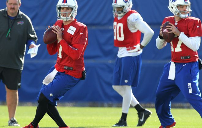 Jeff Tuel took the bulk of the snaps Wednesday at practice.