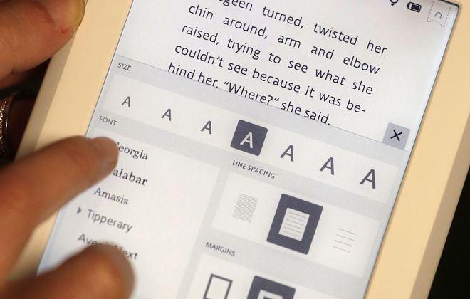 Nook GlowLight e-reader has new features based on customer feedback.