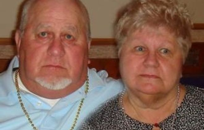 Arnold and Rosalie Gospodarski celebrate their 50th wedding anniversary