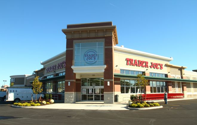 The new Trader Joe's is located behind the Barnes & Noble store, at 1565 Niagara Falls Blvd., Amherst.