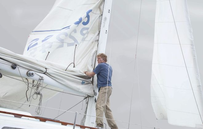 """Robert Redford is a sailor adrift in the Indian Ocean in the movie """"All is Lost."""""""