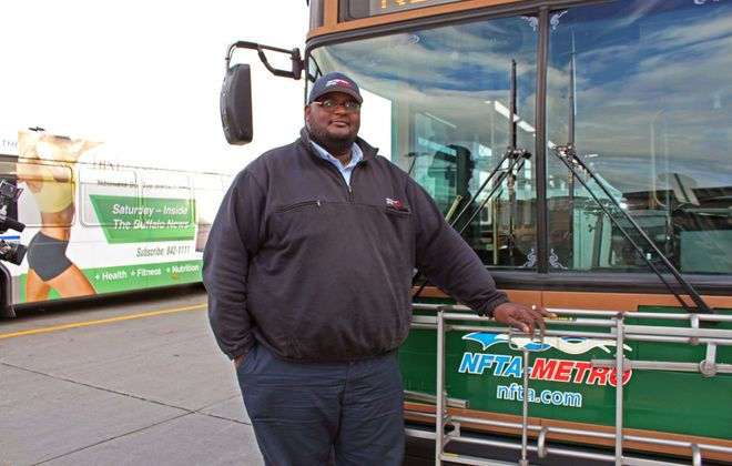 Bus driver Darnell J. Barton had an important  revelation about men and emotions.