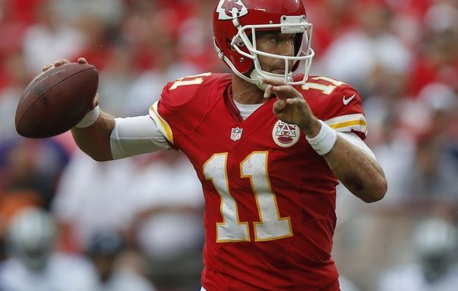 Alex Smith and the Chiefs have looked like contenders through the first three weeks of the season. (Associated Press)