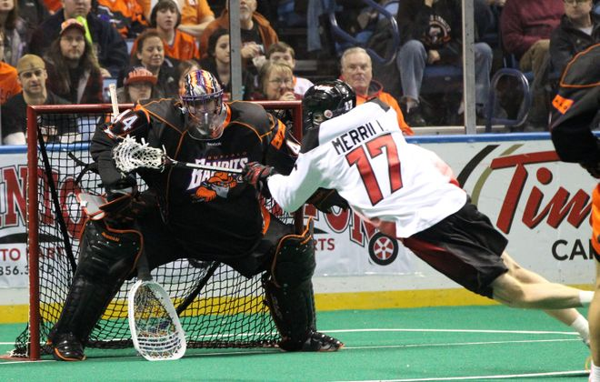 Bandits goalie Anthony Cosmo will have a good-sized role in determining if his team can return to postseason play.
