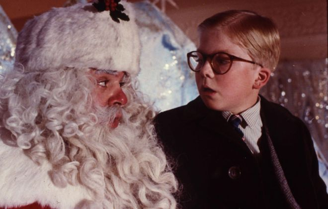 A Christmas Story' cast appears at the