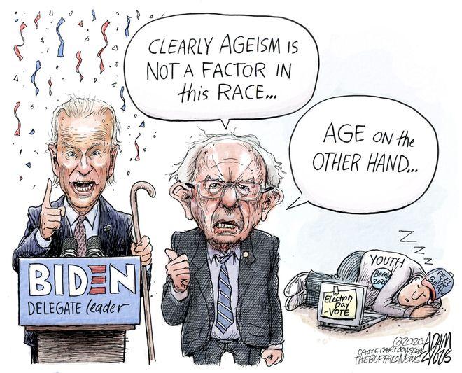 Bernie turnout: March 12, 2020