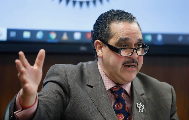 Buffalo Superintendent Kriner Cash. (Mark Mulville/News file photo)