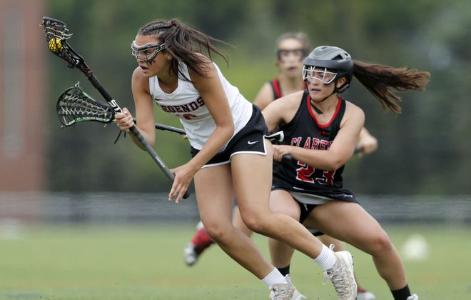 Lancaster's Jess Notaro, left, has committed to St. Bonaventure     (Mark Mulville/Buffalo News file photo)