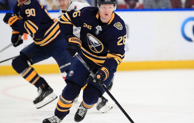 "The season would be over for Rasmus Dahlin and the Sabres under the current working plan of the NHL's ""Return to Play"" Committee (Harry Scull Jr/News file photo)."