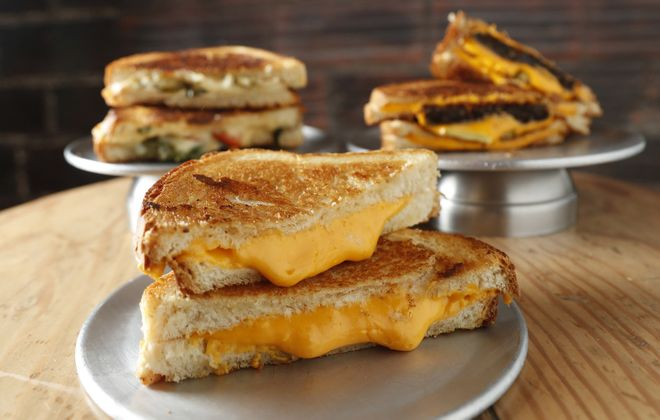 Melting Point is one of several Buffalo-area options with stellar grilled cheeses, a solid Lenten alternative to the fish fry. (Sharon Cantillon/Buffalo News)