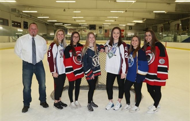 Coaches All-Federation Girls Hockey Team, 2019-20