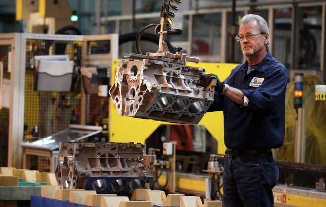 General Motors and Ford Motor Co. are closing their factories. (Robert Kirkham/Buffalo News)