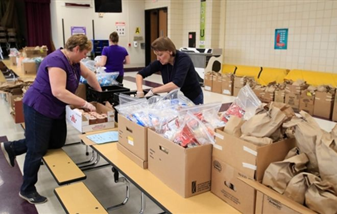 Springville-Griffith Institute prepares and delivers meals to all students in the district.