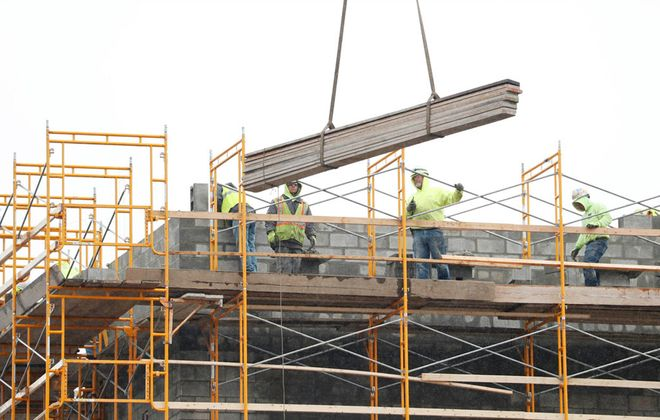 Construction could be one of the first portions of the local economy to reopen. (News file photo)