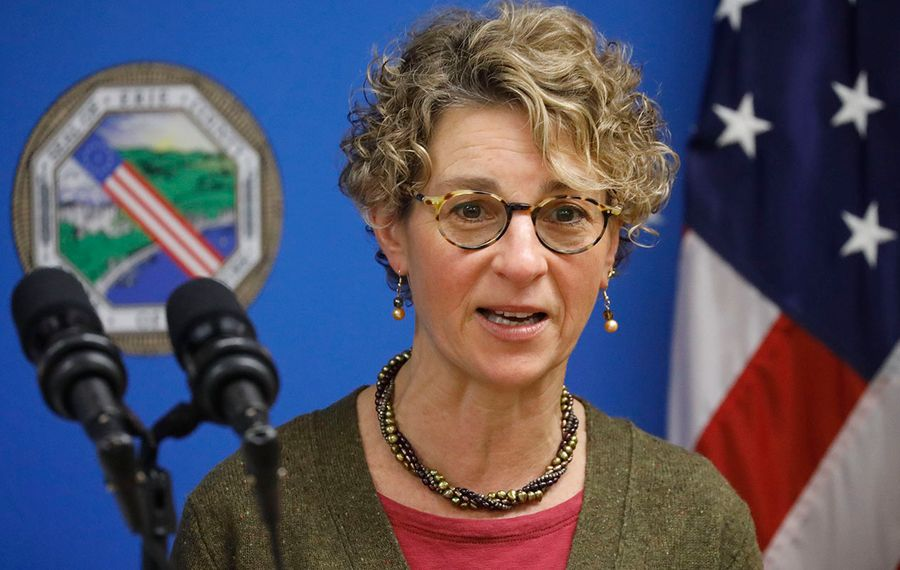 Erie County Health Commissioner Dr. Gale Burstein     (Derek Gee/Buffalo News)