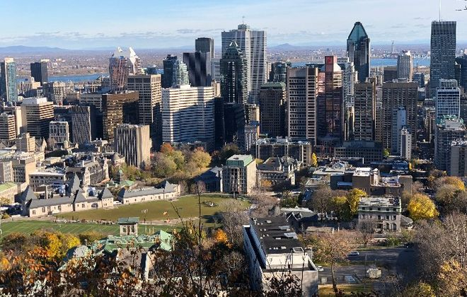 Former Buffalonian Cindy Skrzycki was living in Montreal with her husband when the onset of Covid-19 forced them to decide whether to stay or return home to Pittsburgh. (Getty Images)