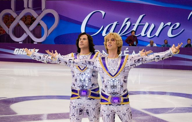 """Blades of Glory"" with Will Ferrell, left, and Jon Heder is pure sports escapism. (DreamWorks Picture)"
