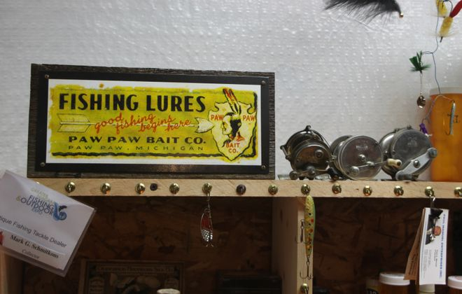 The Antique Fishing Tackle Show set for April 4 in Lockport has been canceled for this year. (Bill Hilts, Jr./Buffalo News)