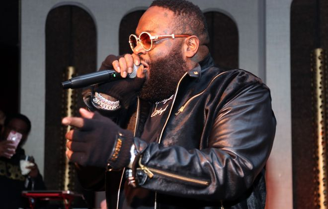 Rick Ross, pictured in 2019, is the first Canalside concert announcement of 2020. (Cassidy Sparrow/Getty Images)