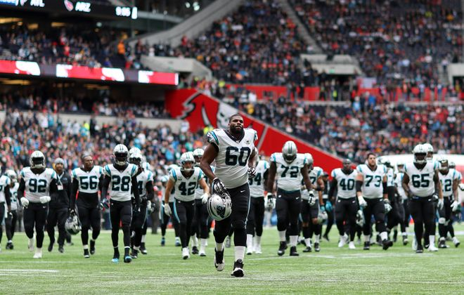Daryl Williams of Carolina Panthers is heading to the Bills. (Getty Images)