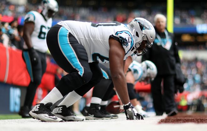 Former Carolina Panthers offensive lineman Daryl Williams has agreed to a one-year contract with the Buffalo Bills. (Getty Images)