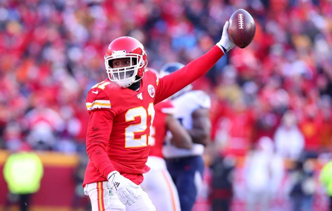 Bashaud Breeland of the Kansas City Chiefs could be a free agent option for the Bills. (Getty Images)