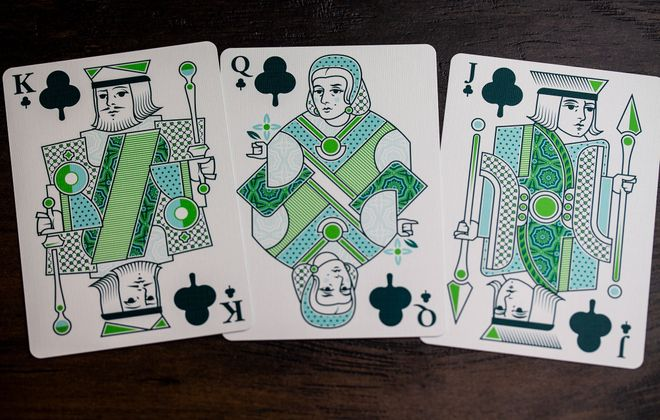 Equinox II cards by the Expert Playing Card Co.