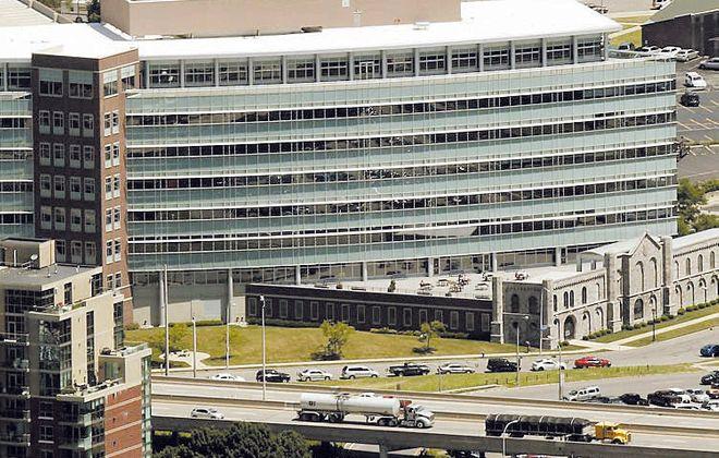 The BlueCross Blue Shield HealthNow building. (Derek Gee/News file photo)