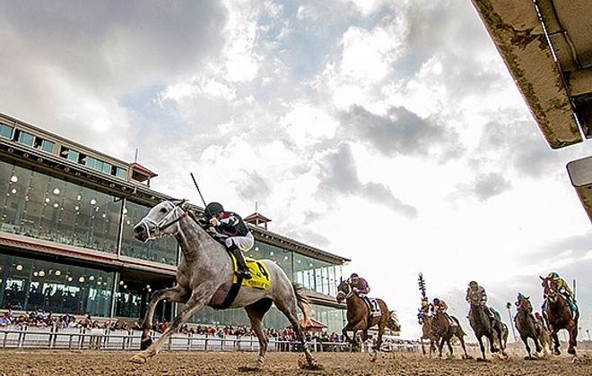 The Fair Grounds in New Orleans is the site of Saturday's Louisiana Derby. Photo Credit: Hodges Photo/Fair Grounds