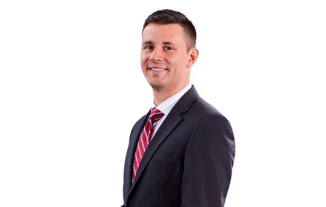 Hodgson Russ attorney Joshua Mertzlufft will challenge Democrat Sean M. Ryan for the 60th District State Senate seat currently held by Republican Christopher L. Jacobs, who is running for Congress. (Campaign photo)
