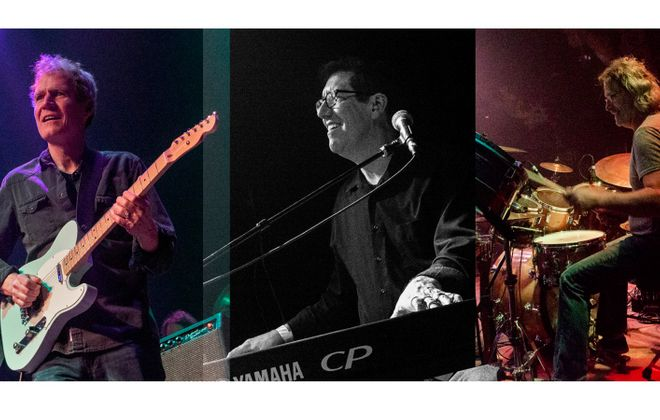 From left, Dave Ruch, Joe Bellanti and Corey Kertzie of Organ Fairchild. (Photos courtesy Dave Ruch)