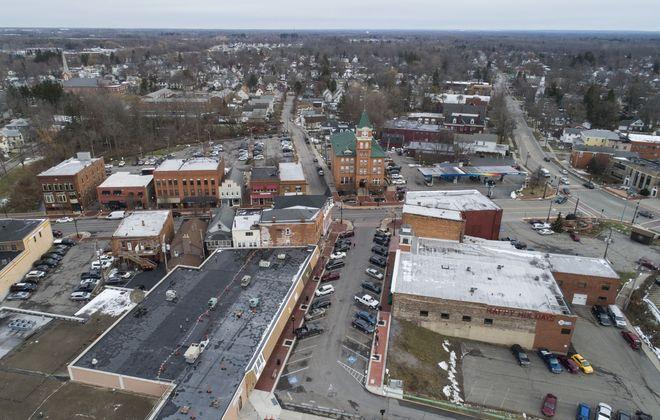 West Main Street in the Village of Lancaster, Tuesday, Jan. 7, 2020. (Derek Gee/Buffalo News)