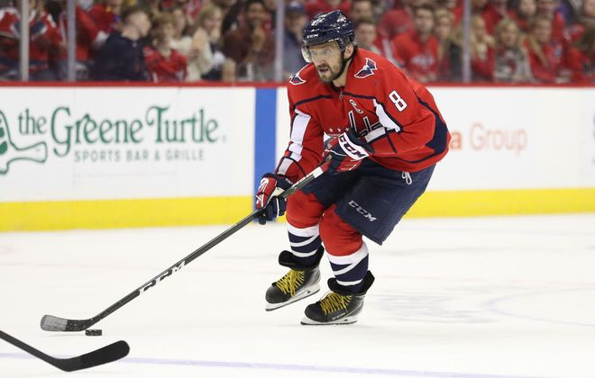 Alex Ovechkin is three goals shy of another 50-goal season for the Capitals (Getty Images).