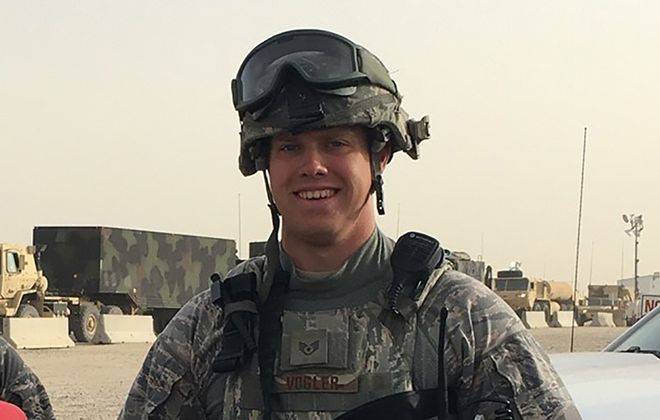 Technical Sgt. Nicholas A. Vogler. (Photo courtesy of the 914th Air Refueling Wing)