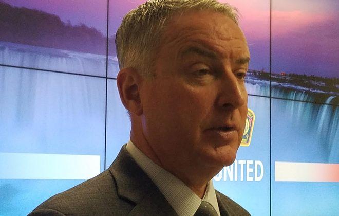 Niagara County Public Health Director Daniel J. Stapleton, seen on March 18, 2020. (Thomas J. Prohaska/Buffalo News)