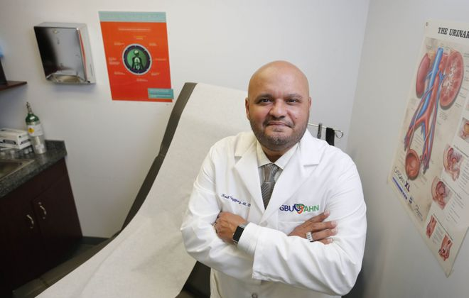 Dr. Raul Vazquez says Buffalo Niagara needs a community-based approach to fight the novel coronavirus  and reach people who might not have primary care doctors. But experts like him have yet to be brought into the planning discussions.  (Derek Gee/News file photo)
