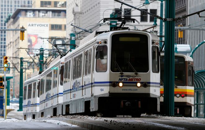 The NFTA may consider adding a fourth car to help disperse Metro Rail passengers after Gov. Andrew M. Cuomo cited density as a factor in the spread of the novel coronavirus. (Mark Mulville/News file photo)