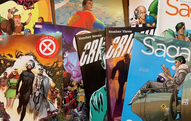 Get to know these comic books on apps like Marvel Unlimited, DC Comics and Comixology. (Photo by Mark Ciemcioch)