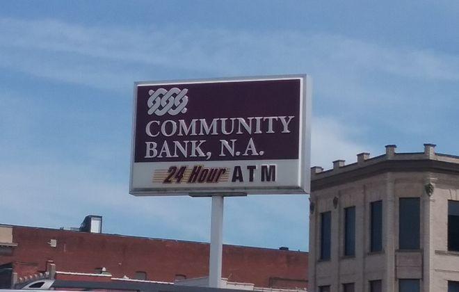 Community Bank announced two executive changes. (Matt Glynn/Buffalo News)