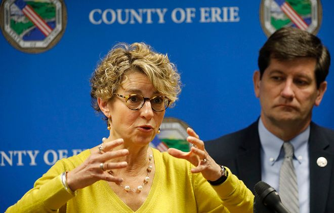 The Erie County Health Department is under the direction of Dr. Gale Burstein.  (Derek Gee/Buffalo News)