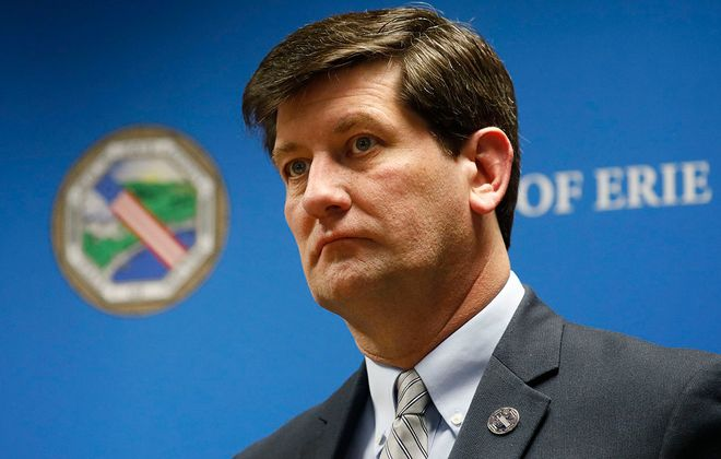 Erie County Executive Mark Poloncarz. (Derek Gee/News file photo)