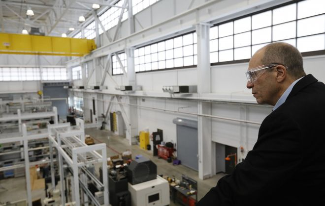 Henry Cialone will run Buffalo Manufacturing Works. (Derek Gee/News file photo)