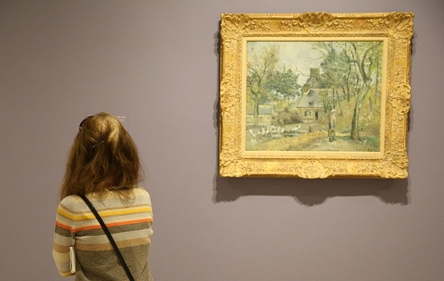 Check out a Monet, as the entire Albright-Knox art collection is available digital. (Sharon Cantillon/News file photo)