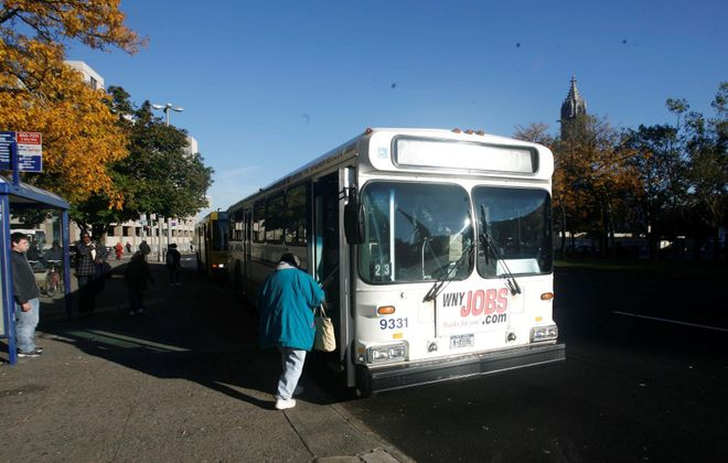 NFTA workers want fewer passengers and more pay while dealing with the risks caused by Covid-19. (John Hickey/News file photo)