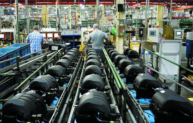GM's Tonawanda engine plant has about 1,500 employees. (News file photo)