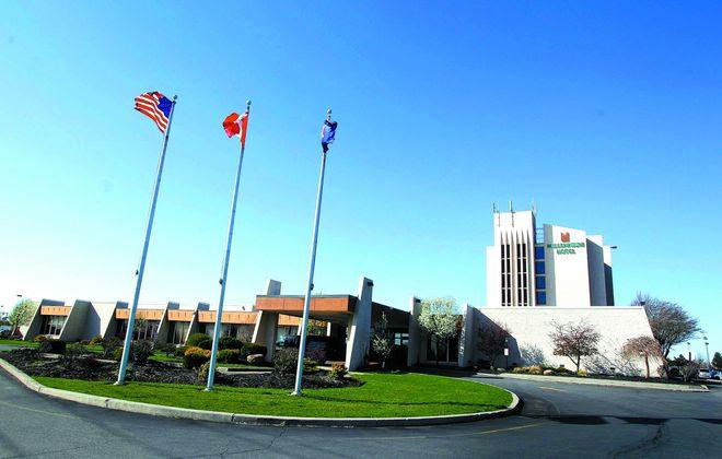The Millennium Hotel in Cheektowaga. (Mark Mulville/Buffalo News)