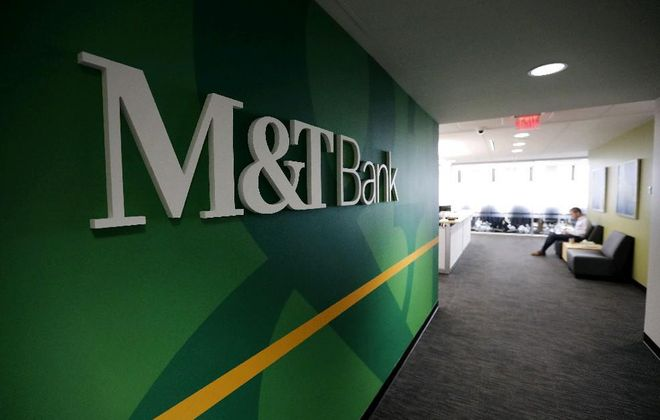 M&T Bank is temporarily boosting pay for some workers. (News file photo)