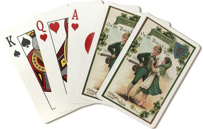 St. Patrick's Day cards by Lantern Press.